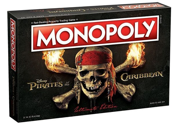 Monopoly Pirates of the Caribbean Edition