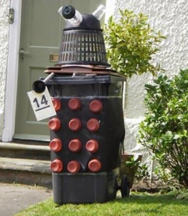 Wheelie Bin Dalek