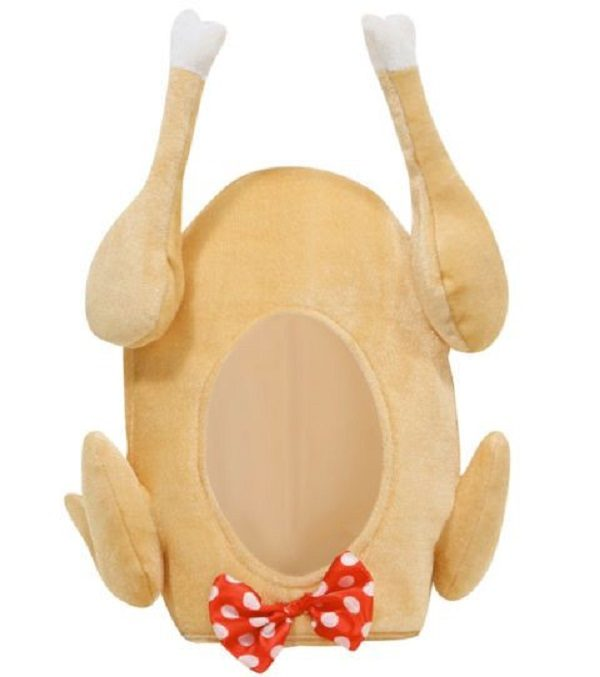 Novelty Turkey Hat (With Bowtie)
