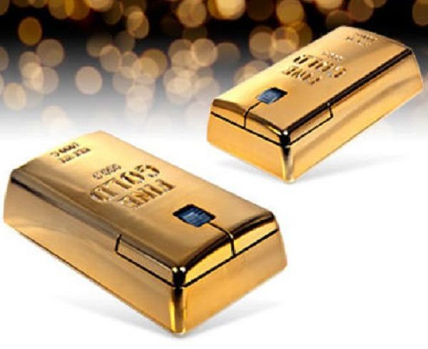 Gold Bar Laptop or PC Mouse