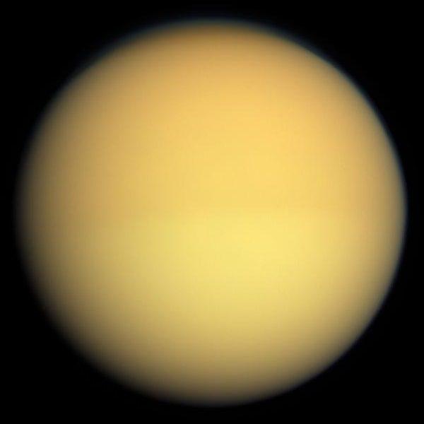 Titan - Estimated Radius: 2,576 km