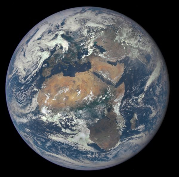 Earth - Estimated Radius: 6,371 km