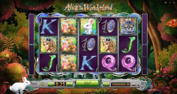 Play Now: Alice in Wonderland