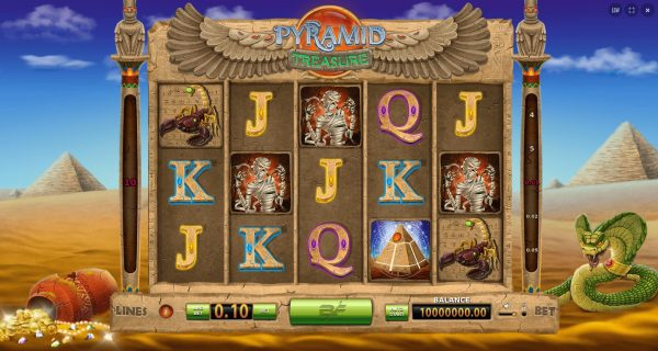 Play Now: Pyramid Treasure