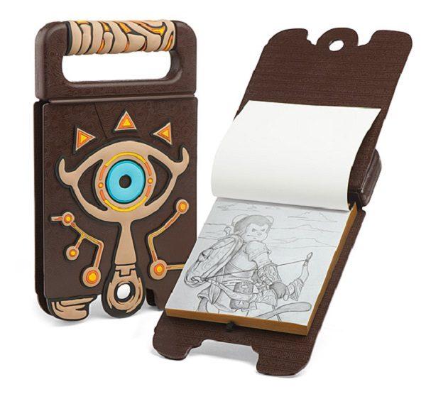 Legend of Zelda: Breath of the Wild Sheikah Slate Sketchbook