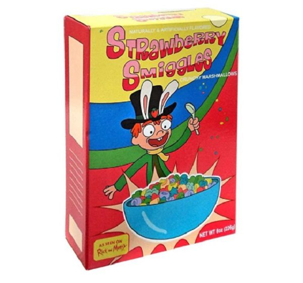 Strawberry Smiggles, the Rick and Morty Breakfast Cereal