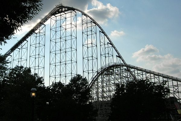 Steel Force in Dorney Park & Wildwater Kingdom, United States