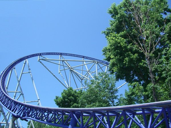 Millennium Force in Cedar Point, United States