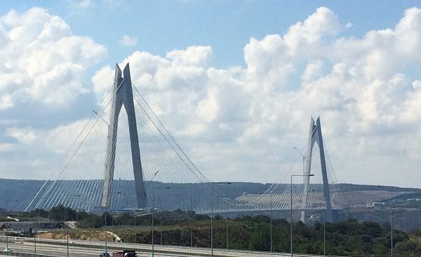 Yavuz Sultan Selim Bridge in Turkey