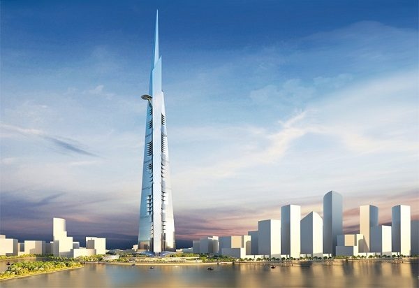 Jeddah Tower in Saudi Arabia