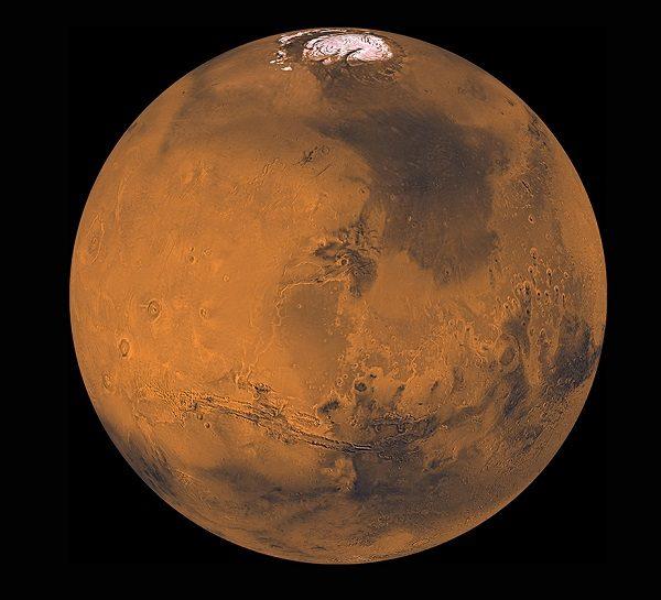 Olympus Mons Peak, Mars
