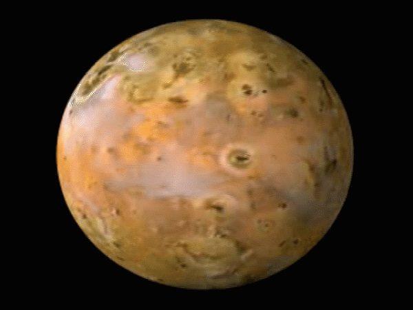 Ionian Mons East Ridge Peak, Io