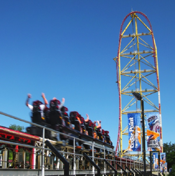 Top Thrill Dragster in Cedar Point, United States