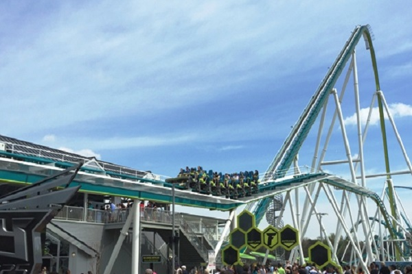Fury 325 in Carowinds, United States