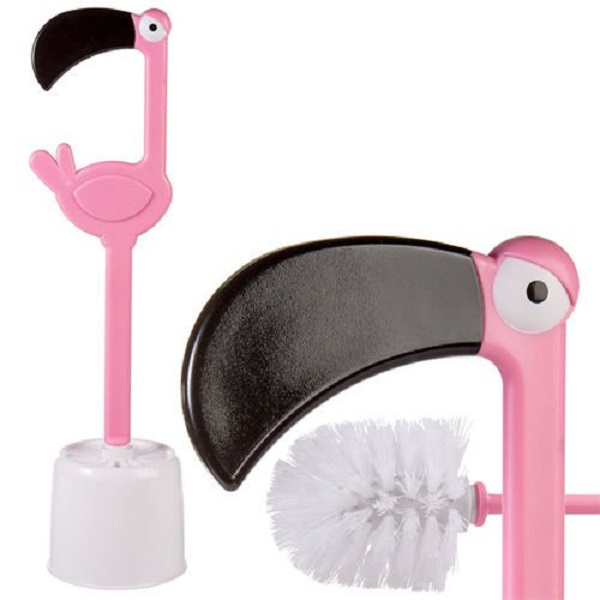 Flamingo Toilet Brush