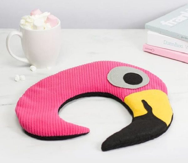 Flamingo Heated Neck Warmer