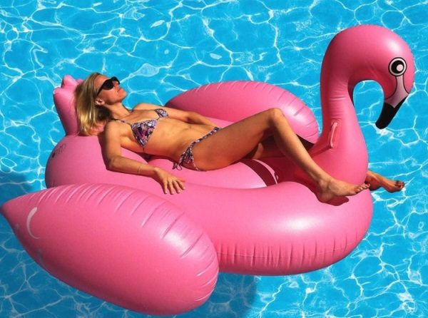 Giant Flamingo Inflatable Pool Toy