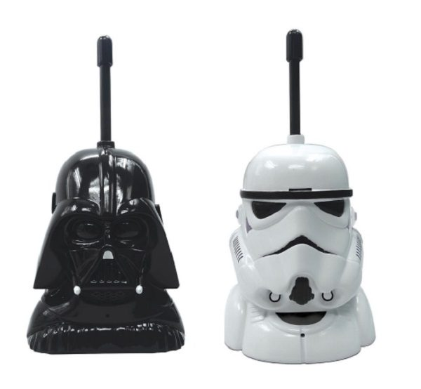Star Wars Darth Vader and Storm Trooper Walkie Talkies