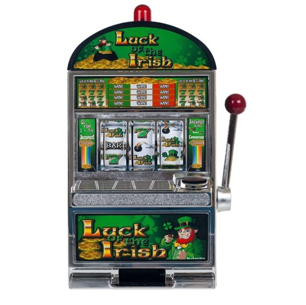 Miniature Luck of the Irish Slot Machine