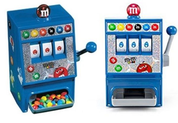 Miniature M&M'S Slot Slot Machine Candy Dispenser