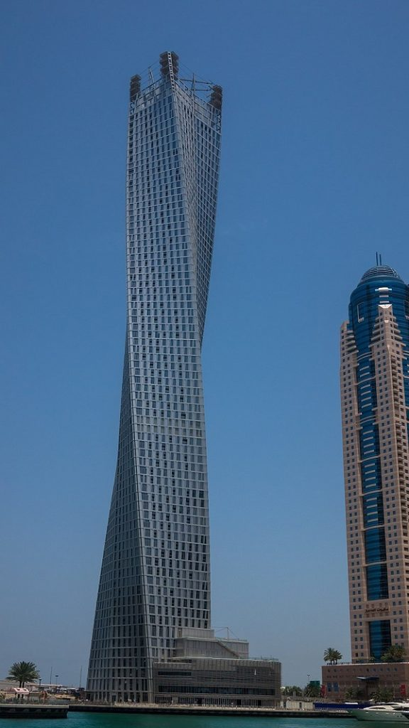 Cayan Tower, United Arab Emirates