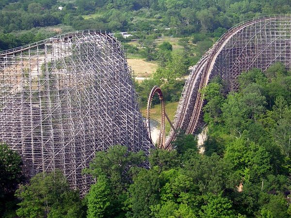 The Beast in Kings Island, United States