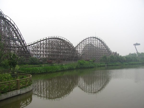 Wood Coaster in Knight Valley, China
