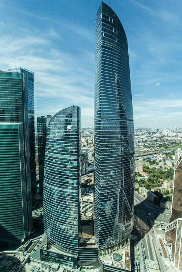 Federation Tower in Russia