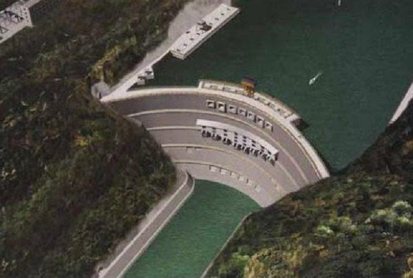 Xiluodu Dam in China