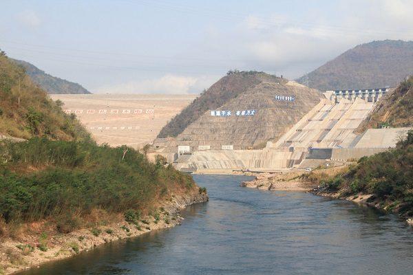 Nuozhadu Dam in China
