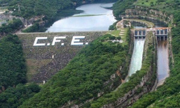 Manuel Moreno Torres Dam in Mexico