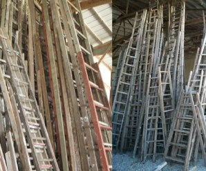 Ten Amazing Things to Can Make and Do With Old Wooden Ladders