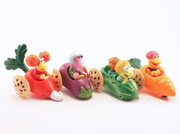 Fraggle Rock Happy Meal Toys