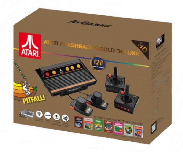 Atari Flashback Gold Deluxe Console