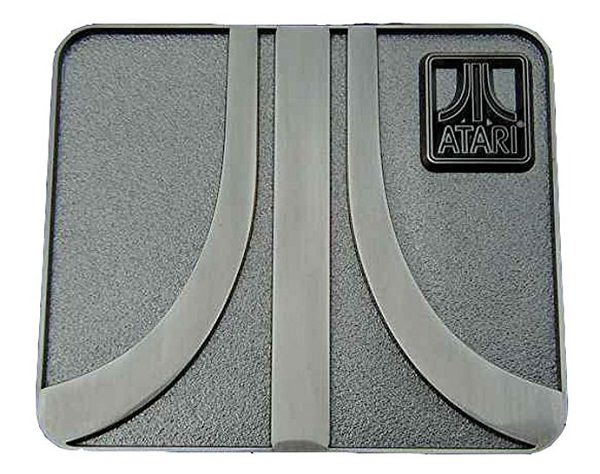 Atari Logo Novelty Belt Buckle