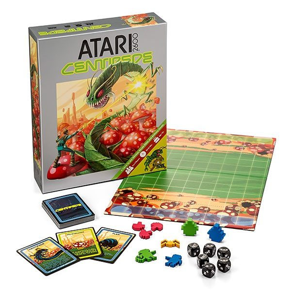 Atari 2600 Edition Centipede Board Game