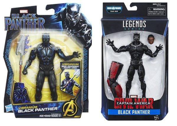 "Marvel Studios Black Panther 6"" Action Figures"