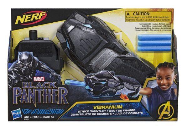 Marvel Studios Black Panther Vibranium Strike Gauntlet Nerf Gun