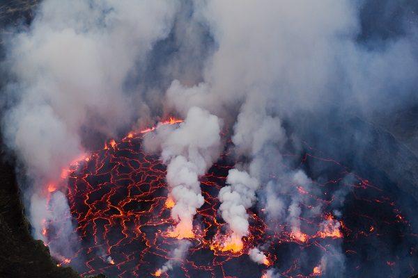 Mount Nyiragongo Volcano, Democratic Republic of the Congo