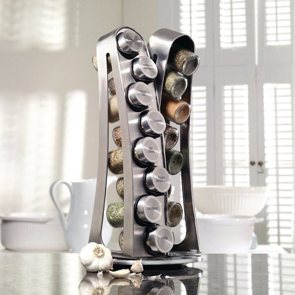 Kamenstein Steel Tower Spice Rack