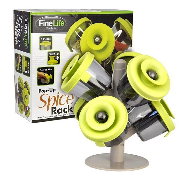 Fine Life Pop-up Spice Rack