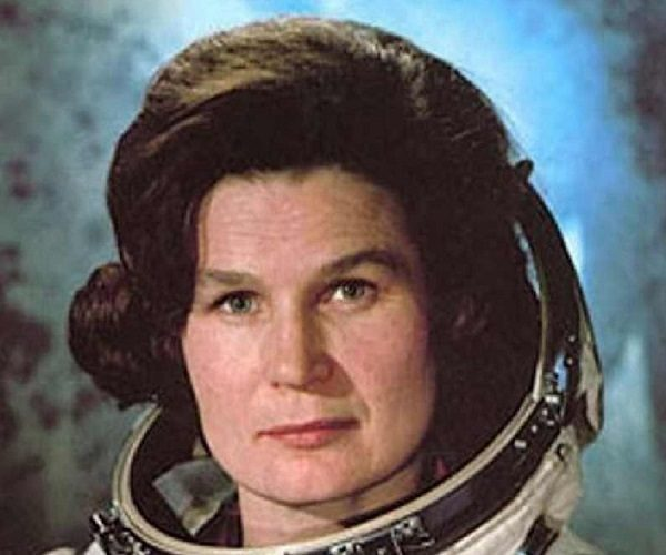 Valentina Vladimirovna Tereshkova from Russia