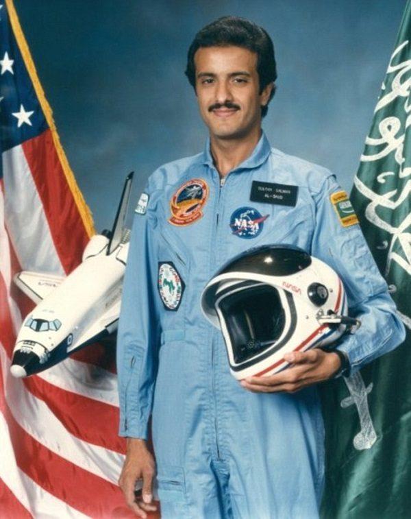 Sultan bin Salman from Saudi Arabia