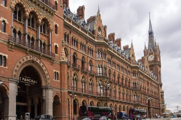 St Pancras International Railway Station, UK