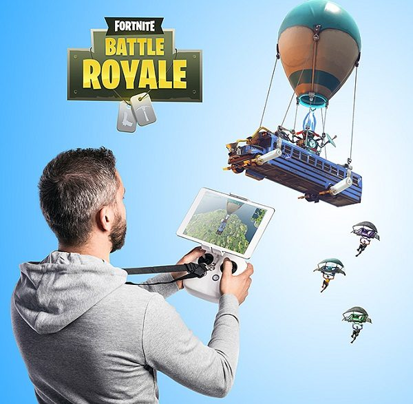 Fortnite Radio Controlled Battle Bus