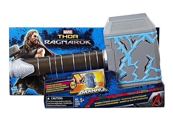 Toy Rumble Strike Hammer in the Shape of Thor's Hammer