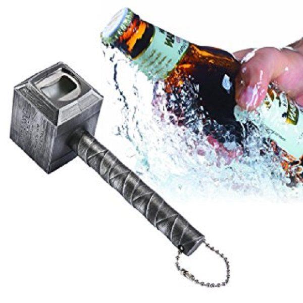 Bottle Opener in the Shape of Thor's Hammer