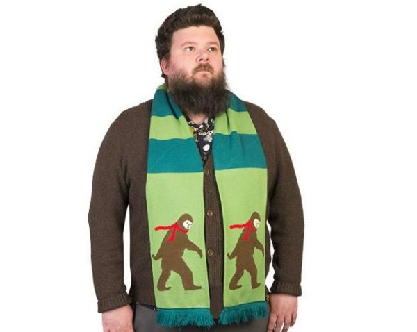 "71"" Soft-knit Acrylic Bigfoot Scarf"