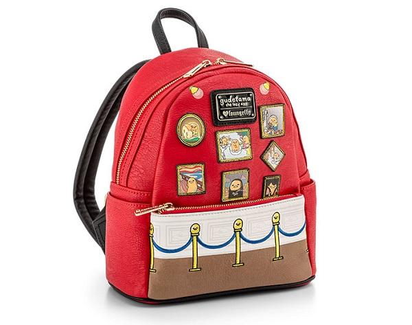 Gudetama Mini Leather Backpack