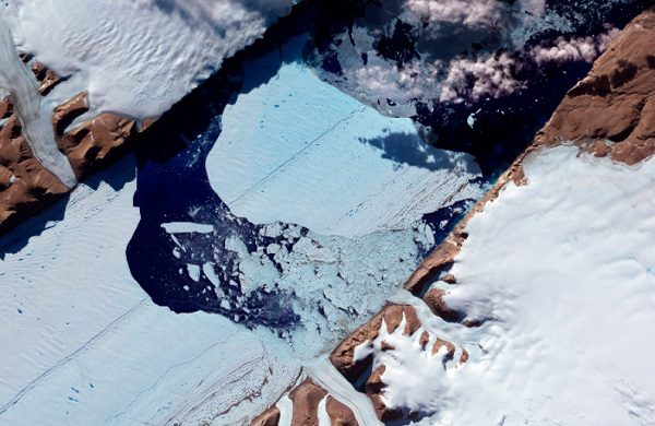 Petermann Glacier, Glacier in Greenland